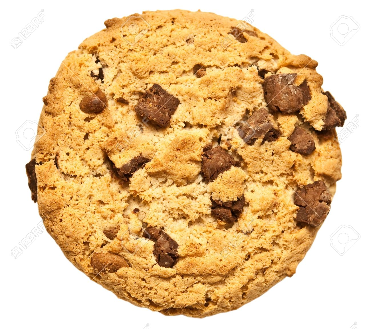 11992381-chocolate-chip-cookie-isolated-