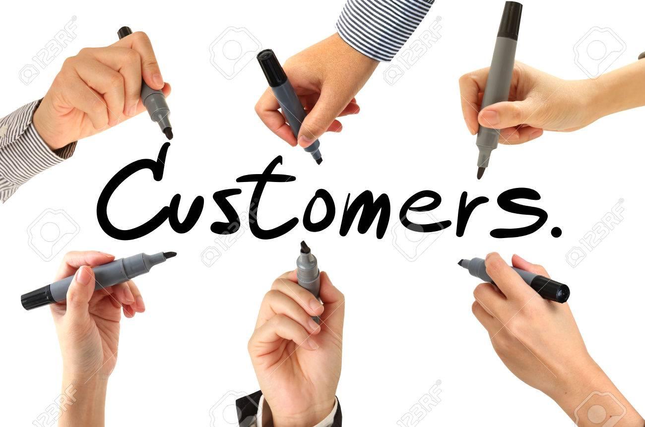 Customer writing com
