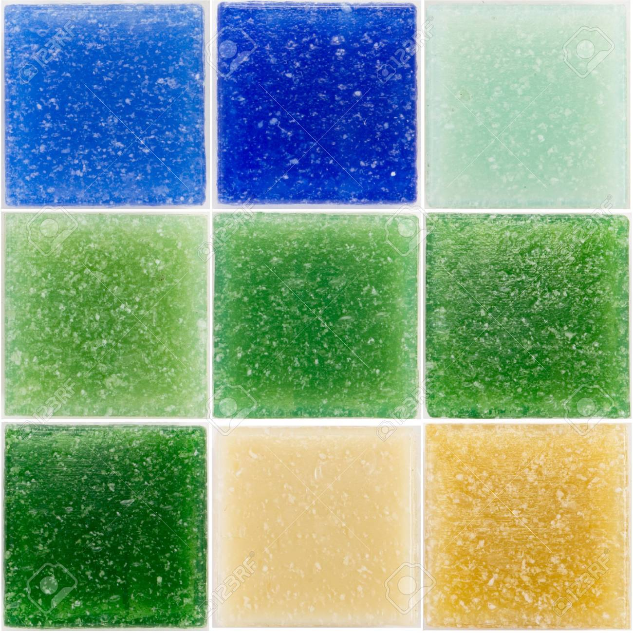palette of a glass tiles Stock Photo - 2767375