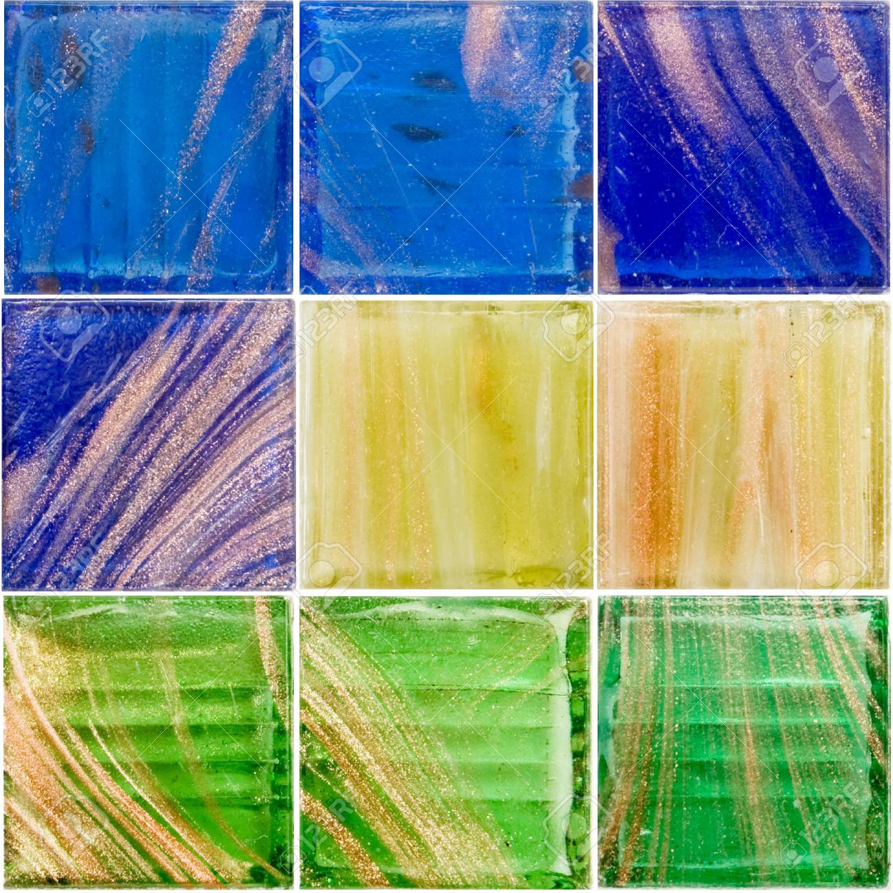 palette of a rich glass tiles Stock Photo - 2846186