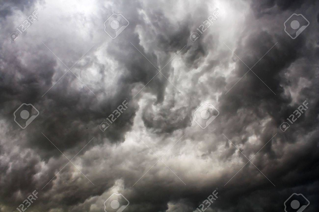 stormy clouds Stock Photo - 5112871