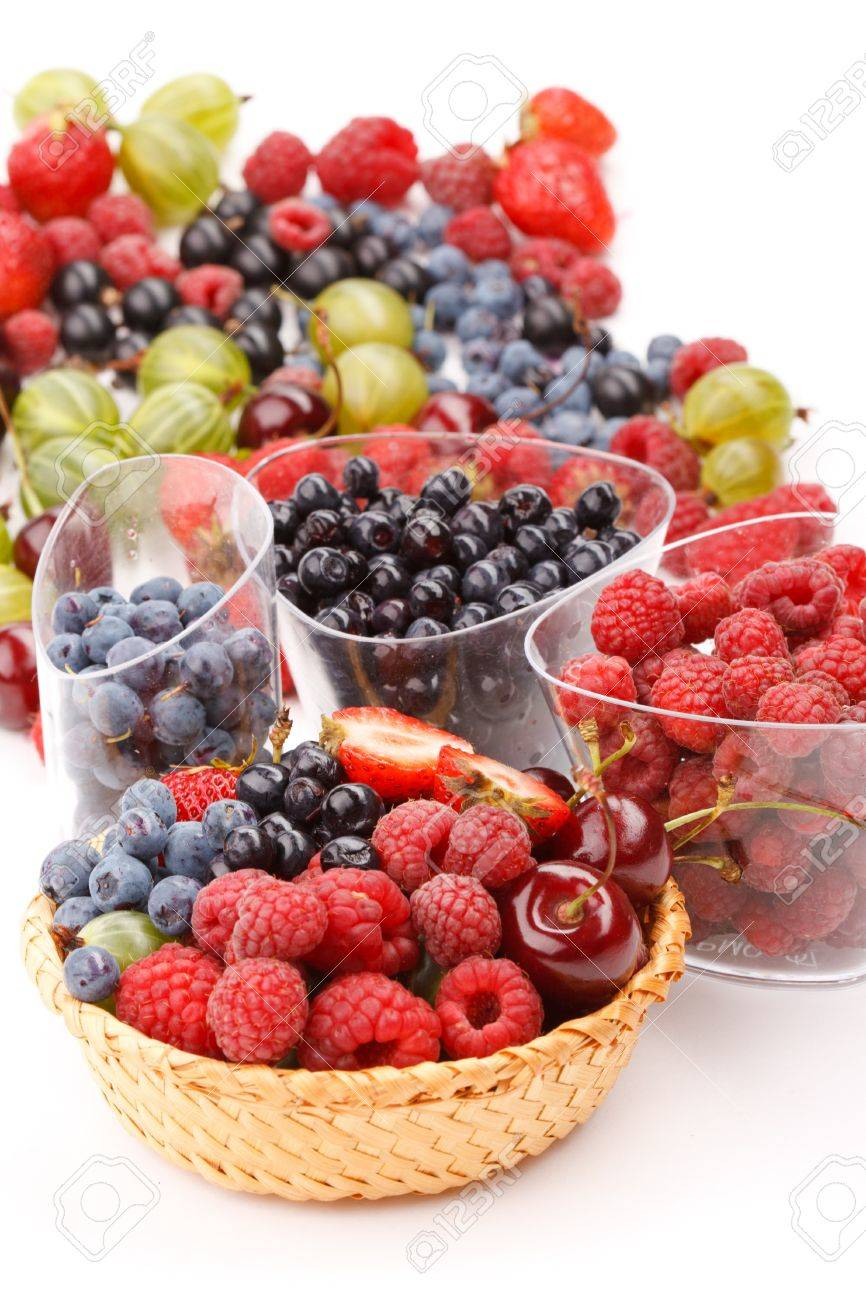 different kinds of berries Stock Photo - 7486706