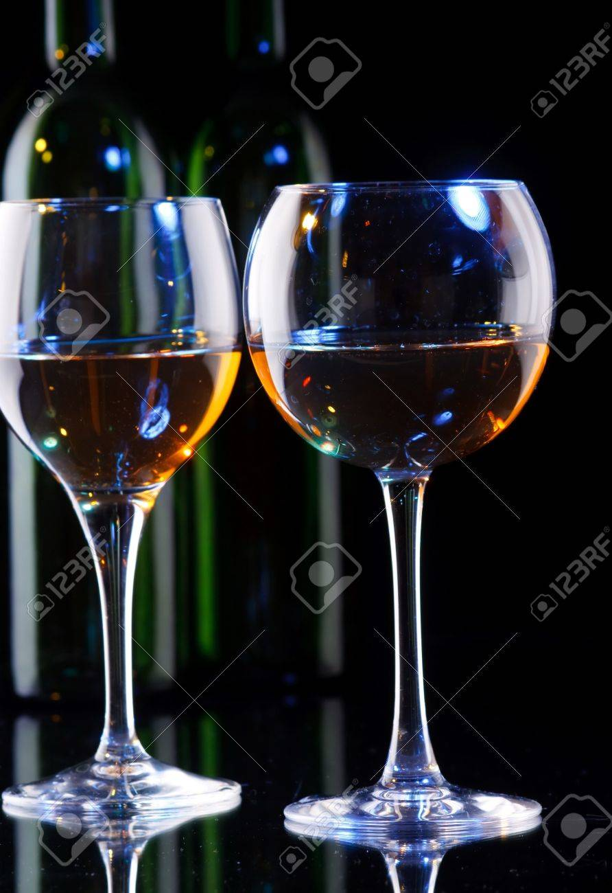 wine in the glass Stock Photo - 7888790