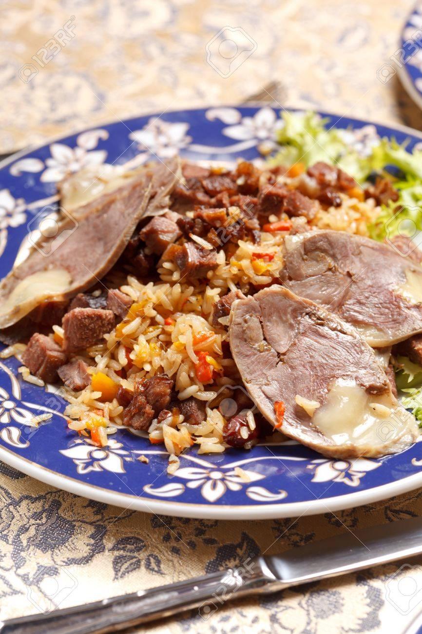 Uzbek national dish - horse sausage. Cooking at home 86