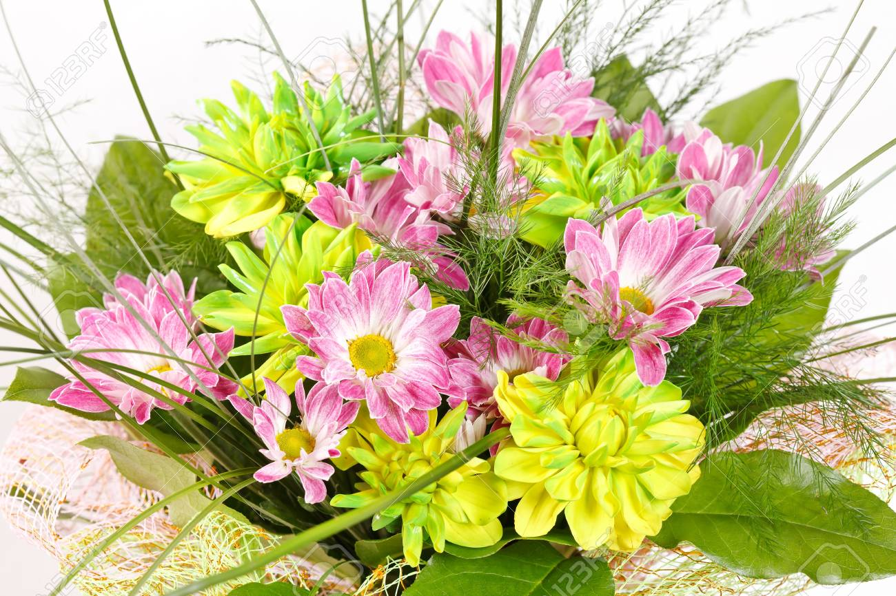 bouquet of colorful flowers Stock Photo - 10460643