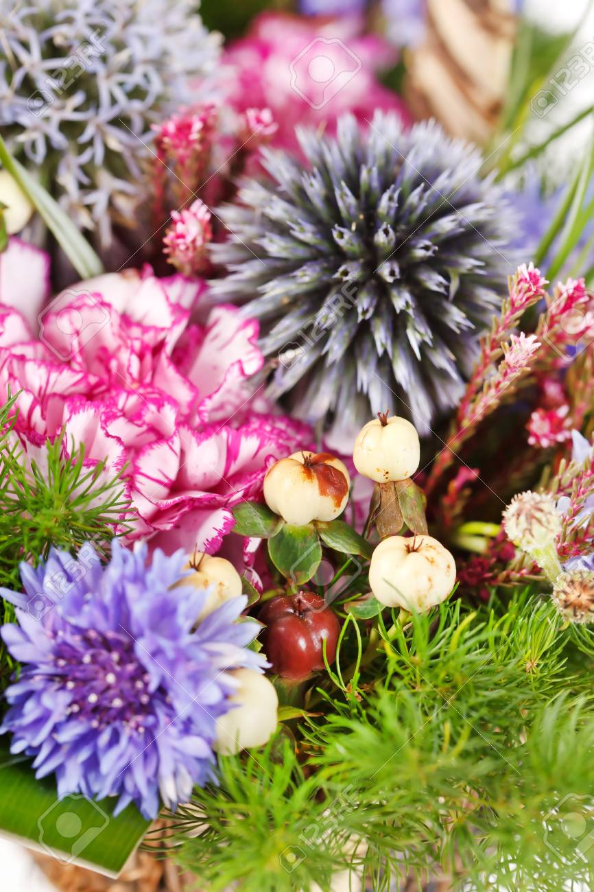 bouquet of colorful flowers Stock Photo - 10529595