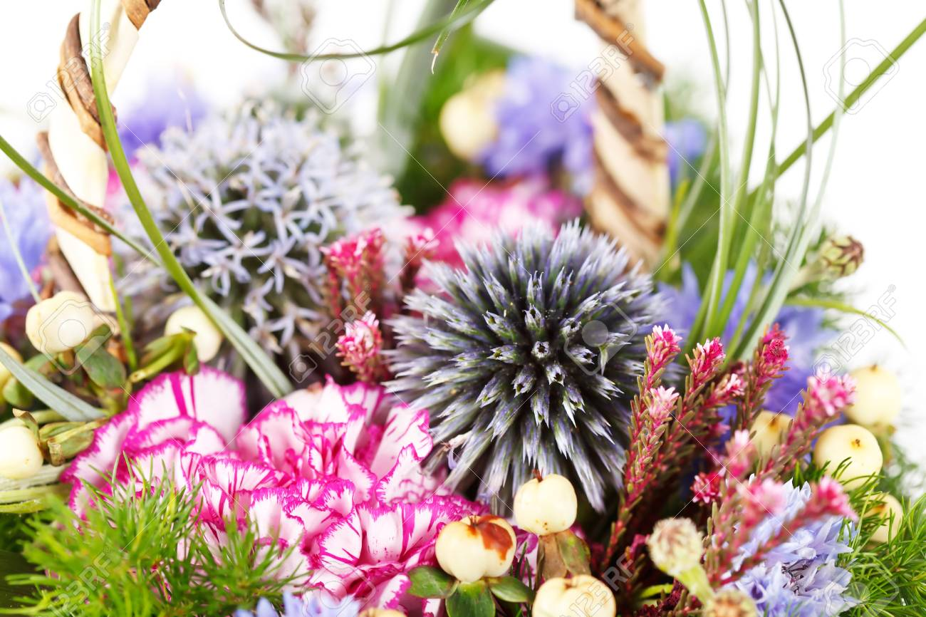 bouquet of colorful flowers Stock Photo - 10691356