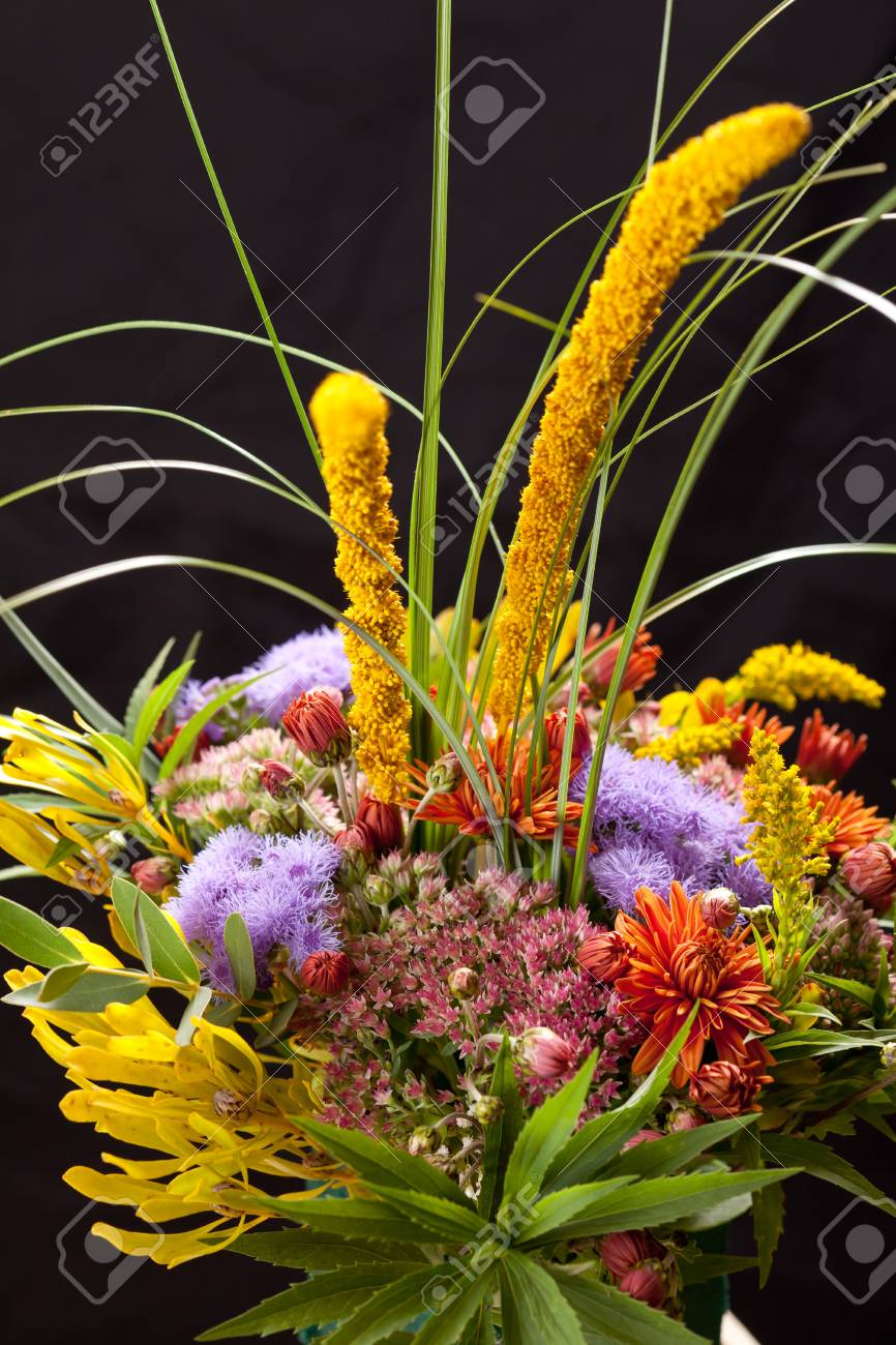 bouquet of colorful flowers Stock Photo - 11339965