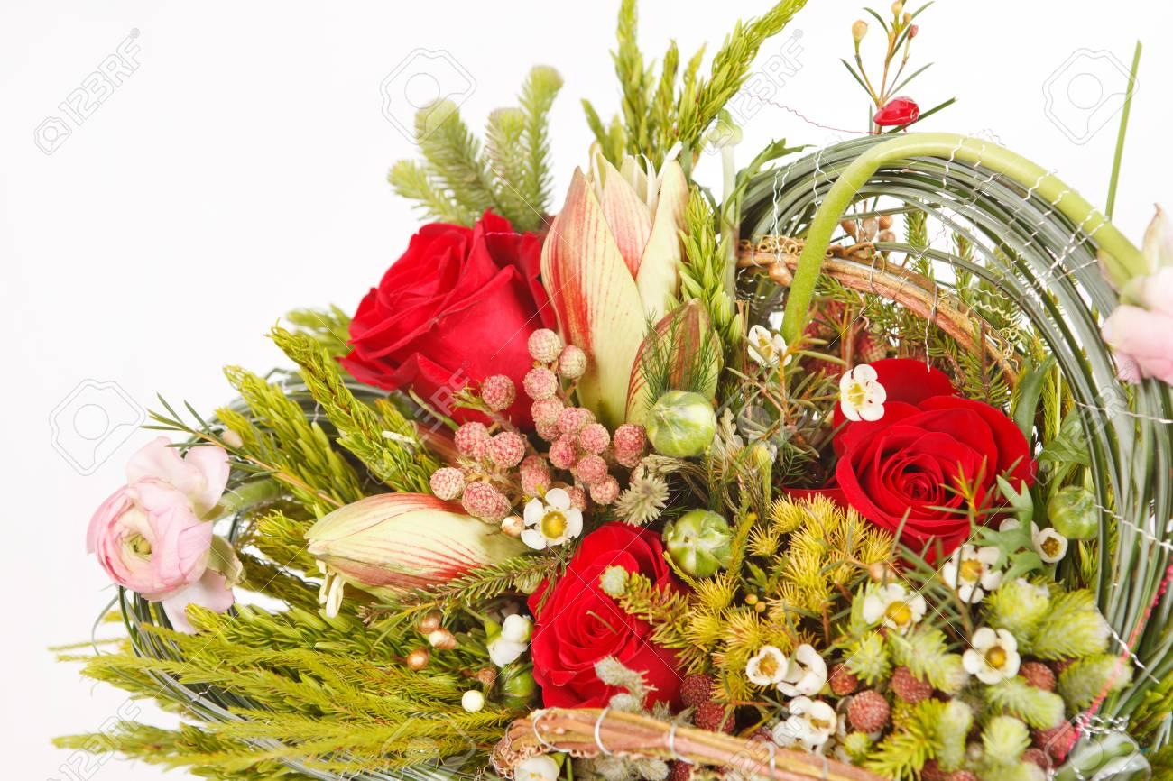 Beautiful flowers in the basket stock photo picture and royalty beautiful flowers in the basket stock photo 12985745 izmirmasajfo