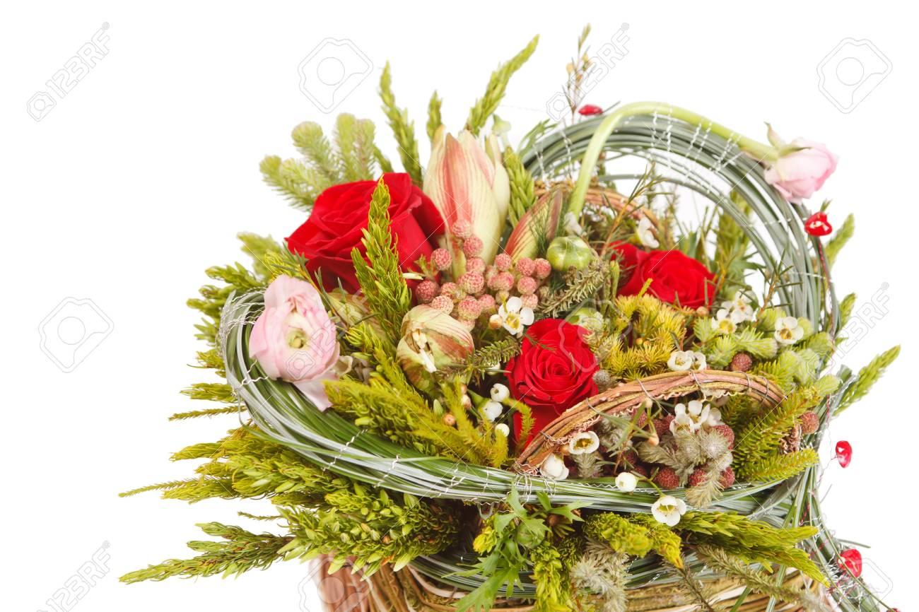 Beautiful flowers in the basket stock photo picture and royalty beautiful flowers in the basket stock photo 13239700 izmirmasajfo
