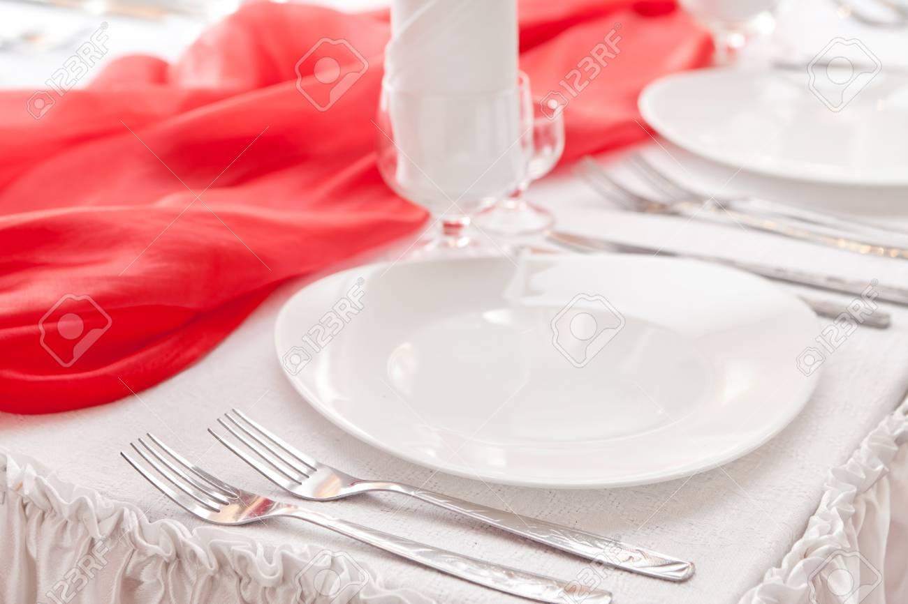 Wedding table setting Stock Photo - 13252378