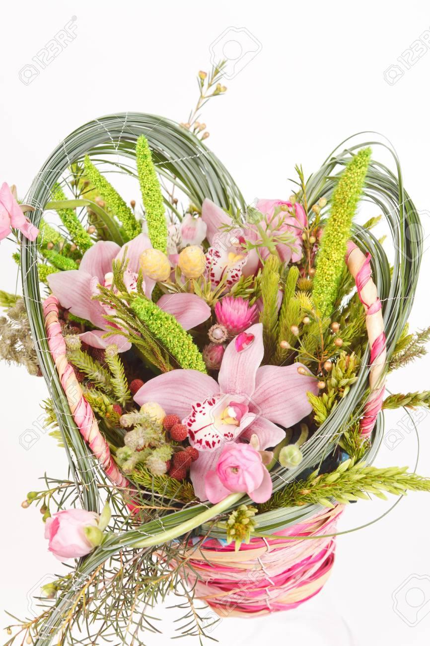 Beautiful flowers in the basket stock photo picture and royalty beautiful flowers in the basket stock photo 13341806 izmirmasajfo