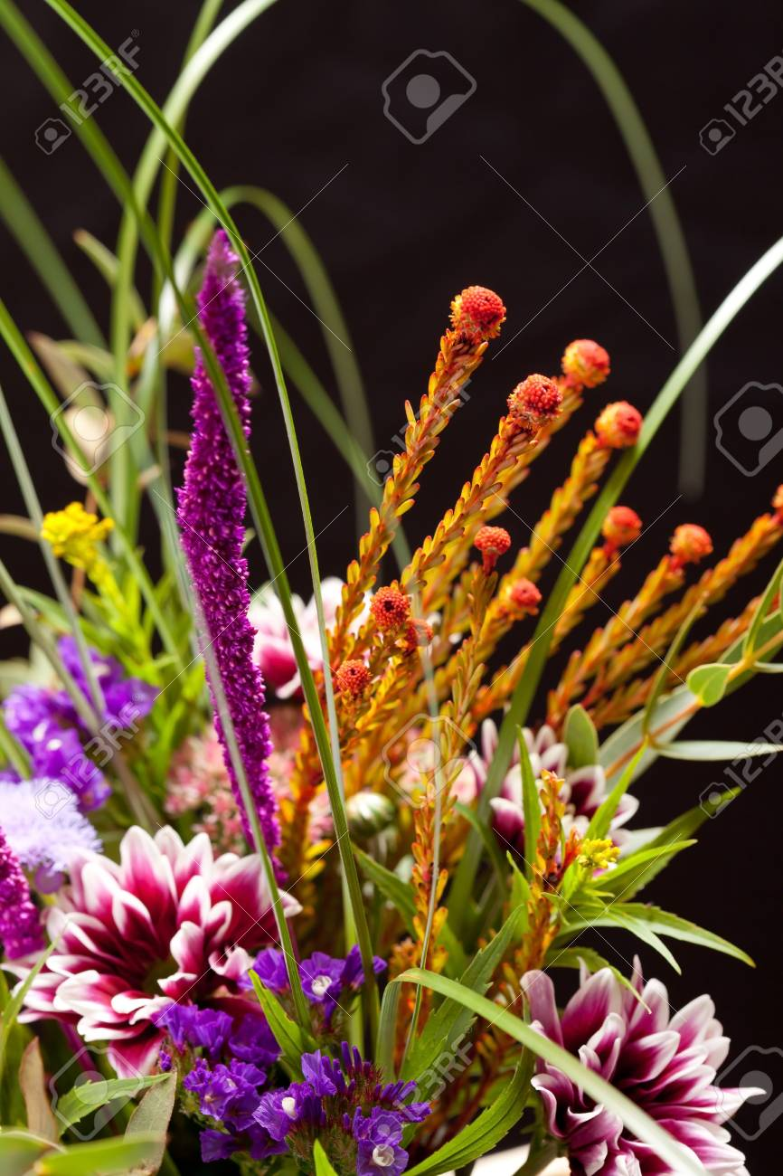 bouquet of colorful flowers Stock Photo - 14851313
