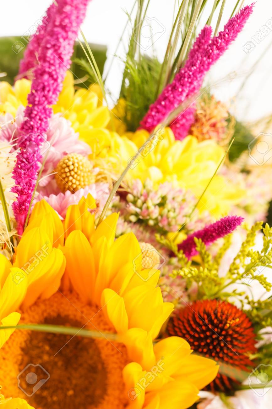 bouquet of colorful flowers Stock Photo - 15121564
