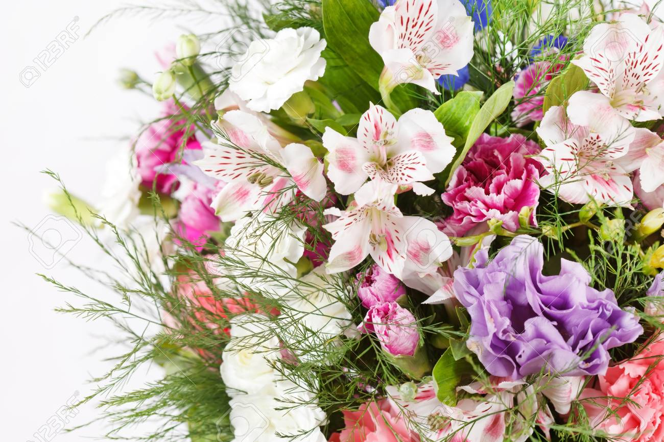 bouquet of colorful flowers Stock Photo - 17397790