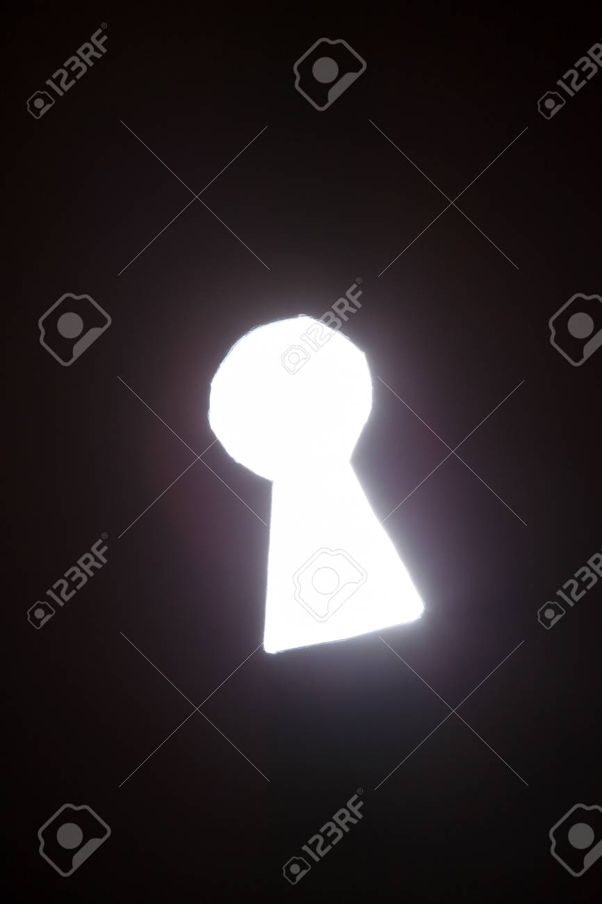 keyhole Stock Photo - 18429400