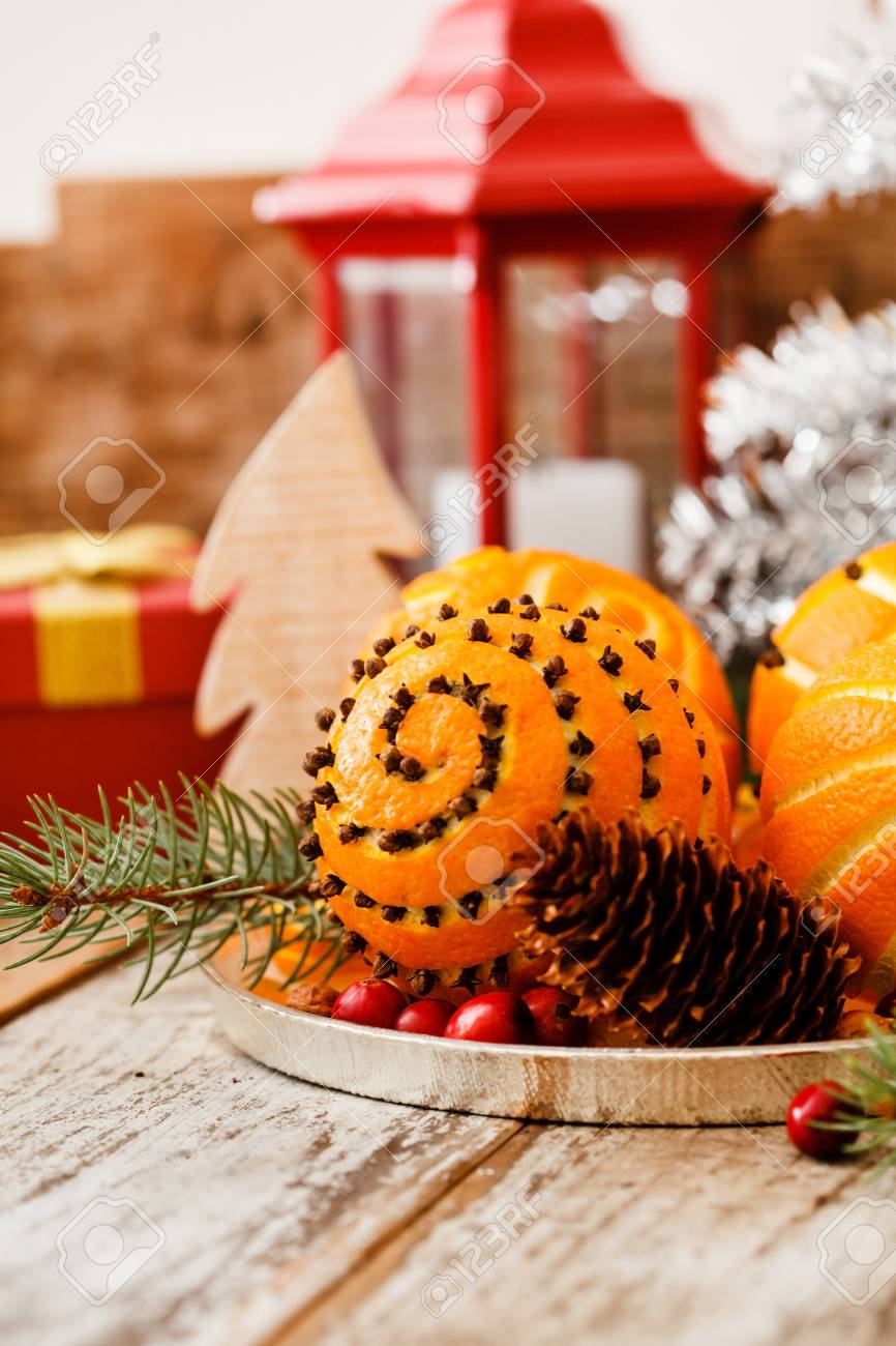 christmas oranges stock photo 43008487 - Christmas Oranges