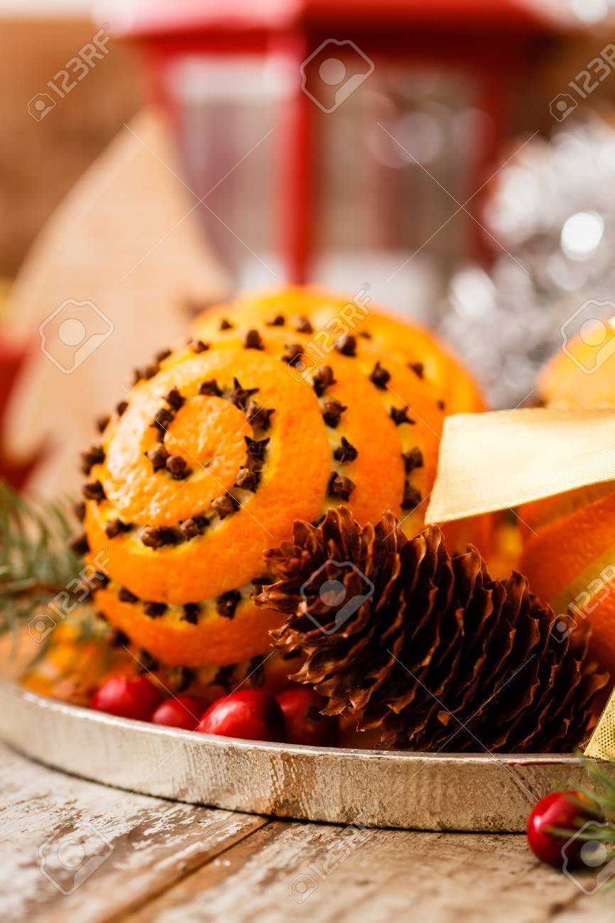 christmas oranges stock photo 45753557 - Christmas Oranges
