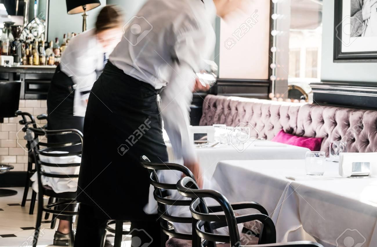 waiter in the restaurant - 62681686