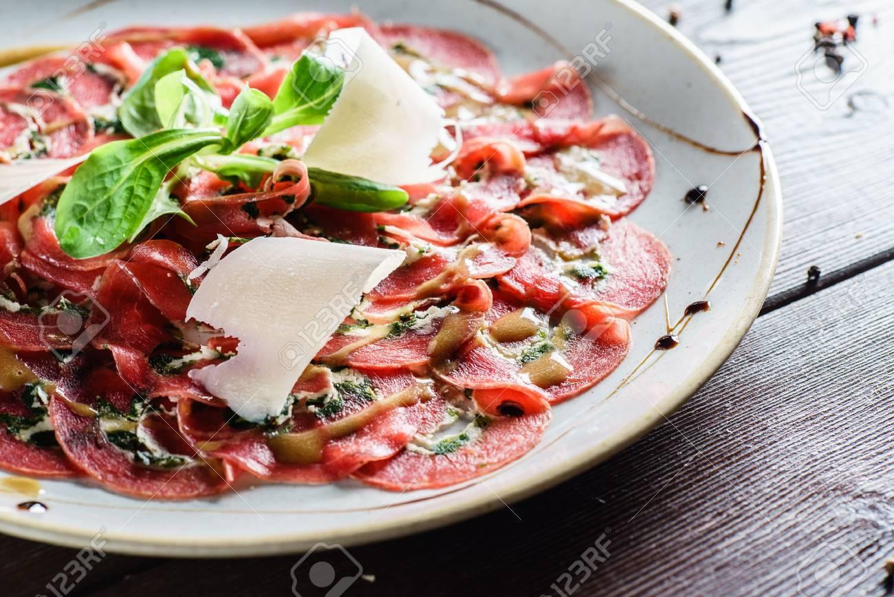 meat carpaccio - 64389619