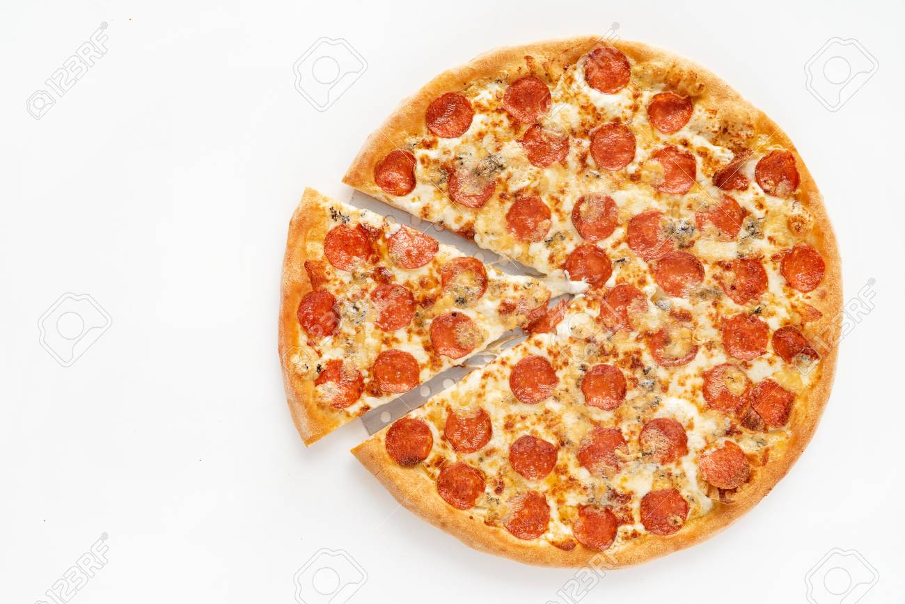 tasty pizza on the table - 109274241
