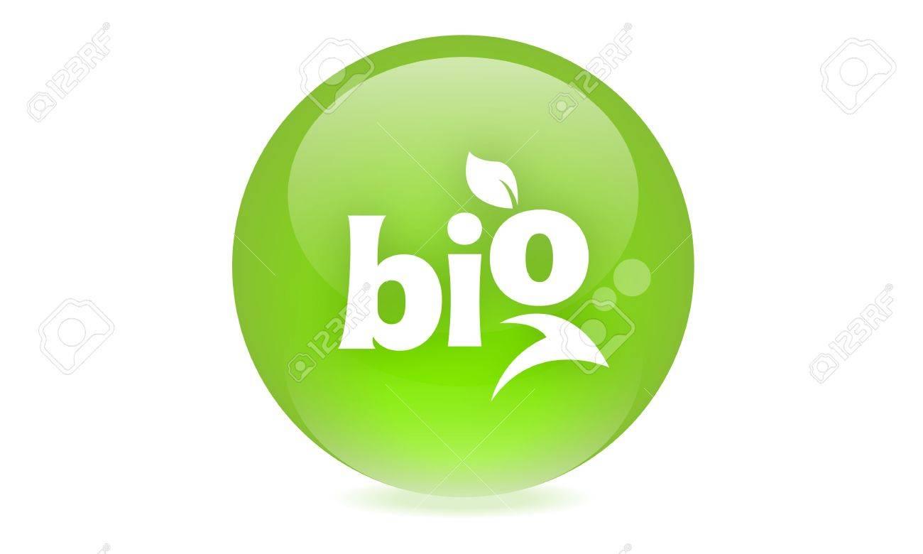 Bio icon Stock Photo - 19336257