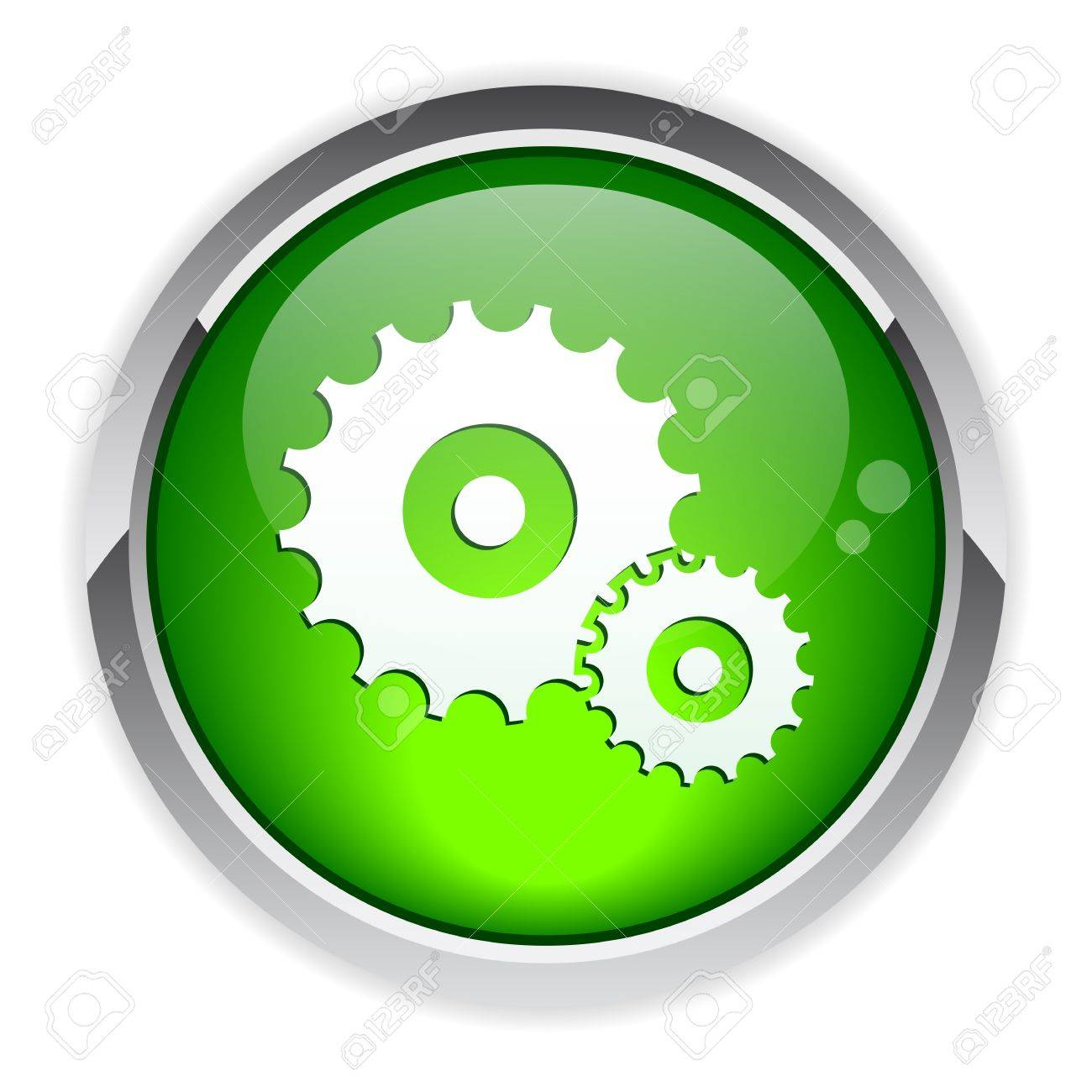 button settings Information Stock Vector - 20042149