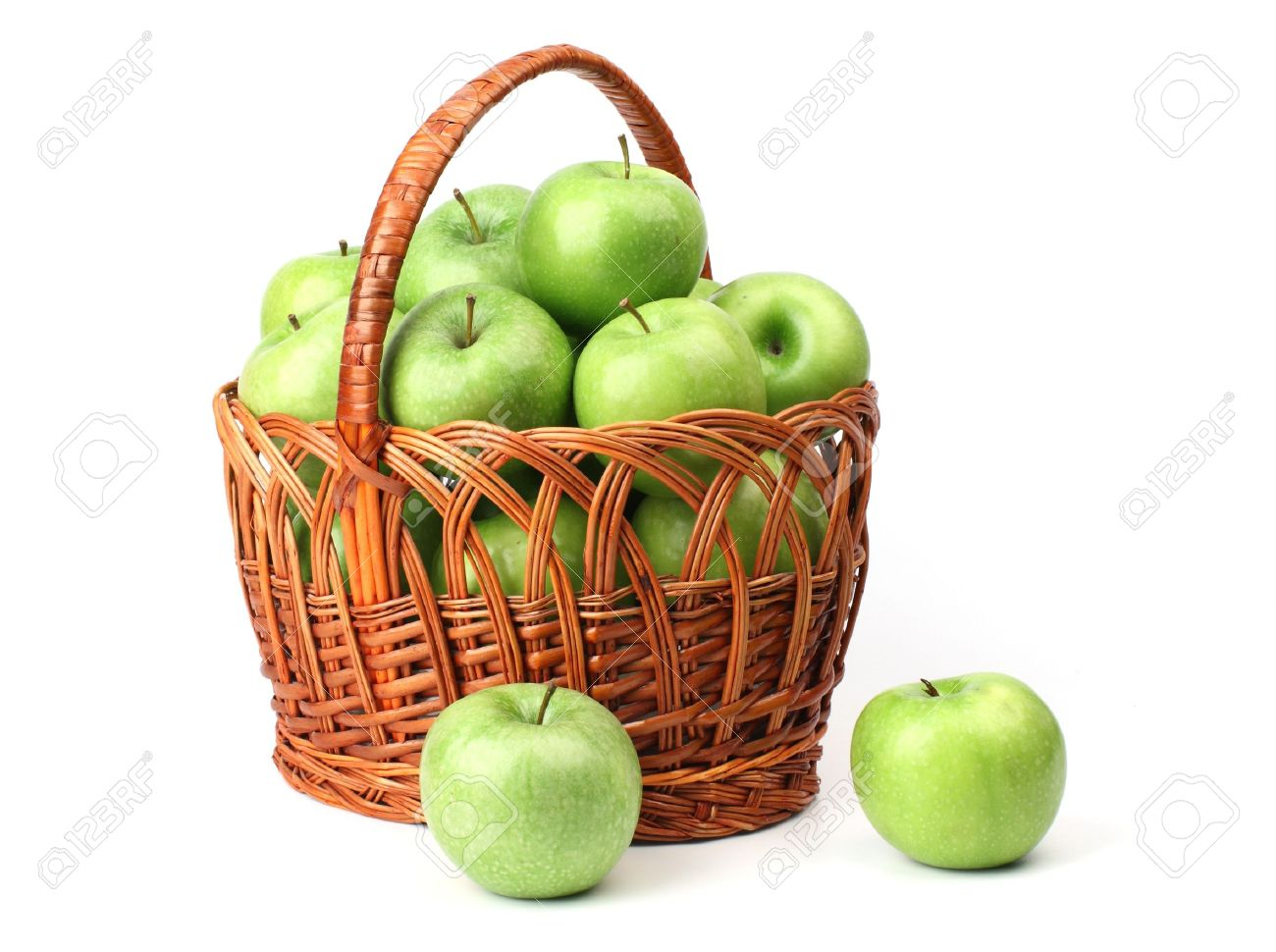 Apple Fruit Basket Images