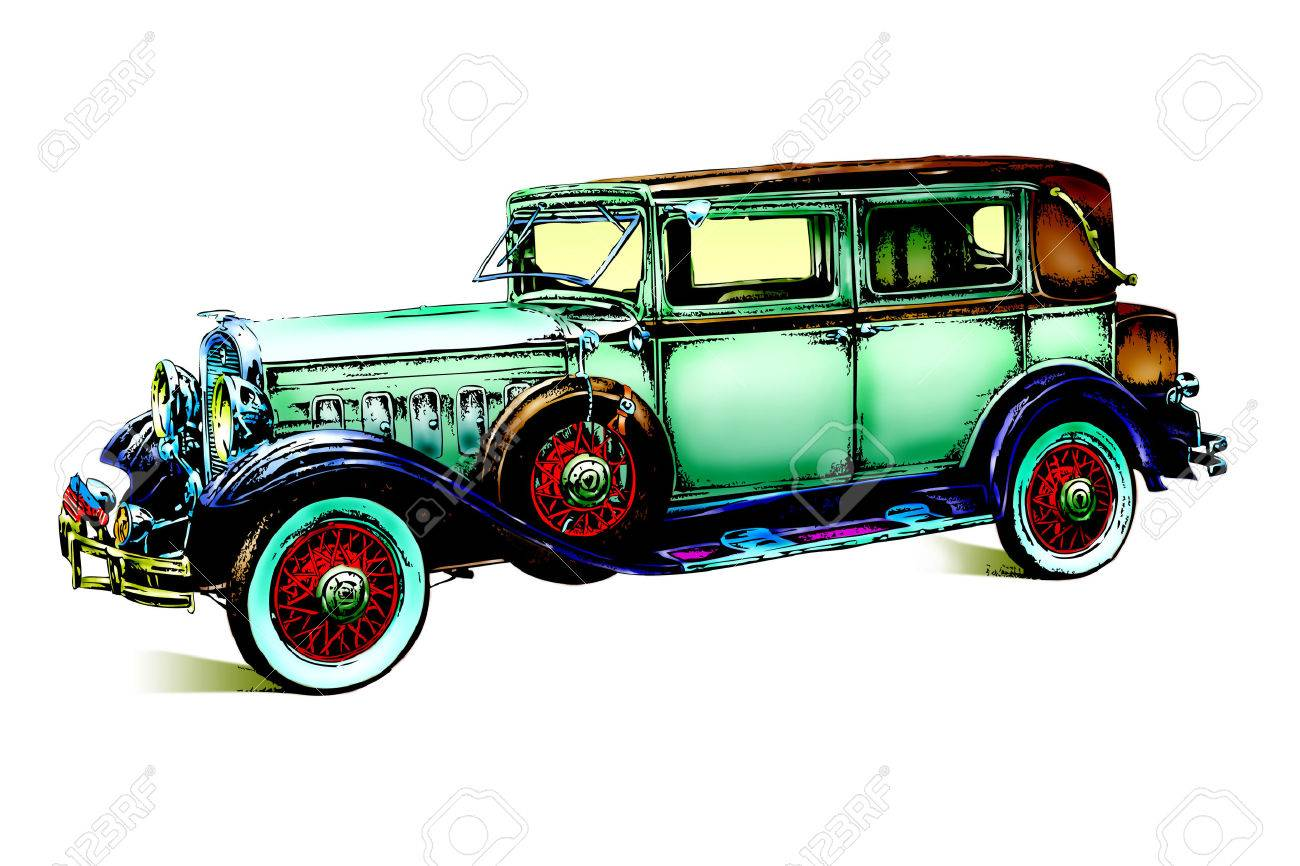 Old Classic Car Retro Vintage Stock Photo Picture And Royalty Free