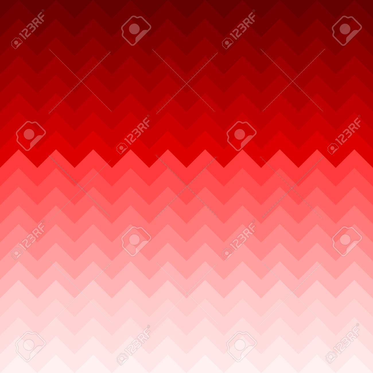 Red 3d Geometrical Cube Waves Gradient ...