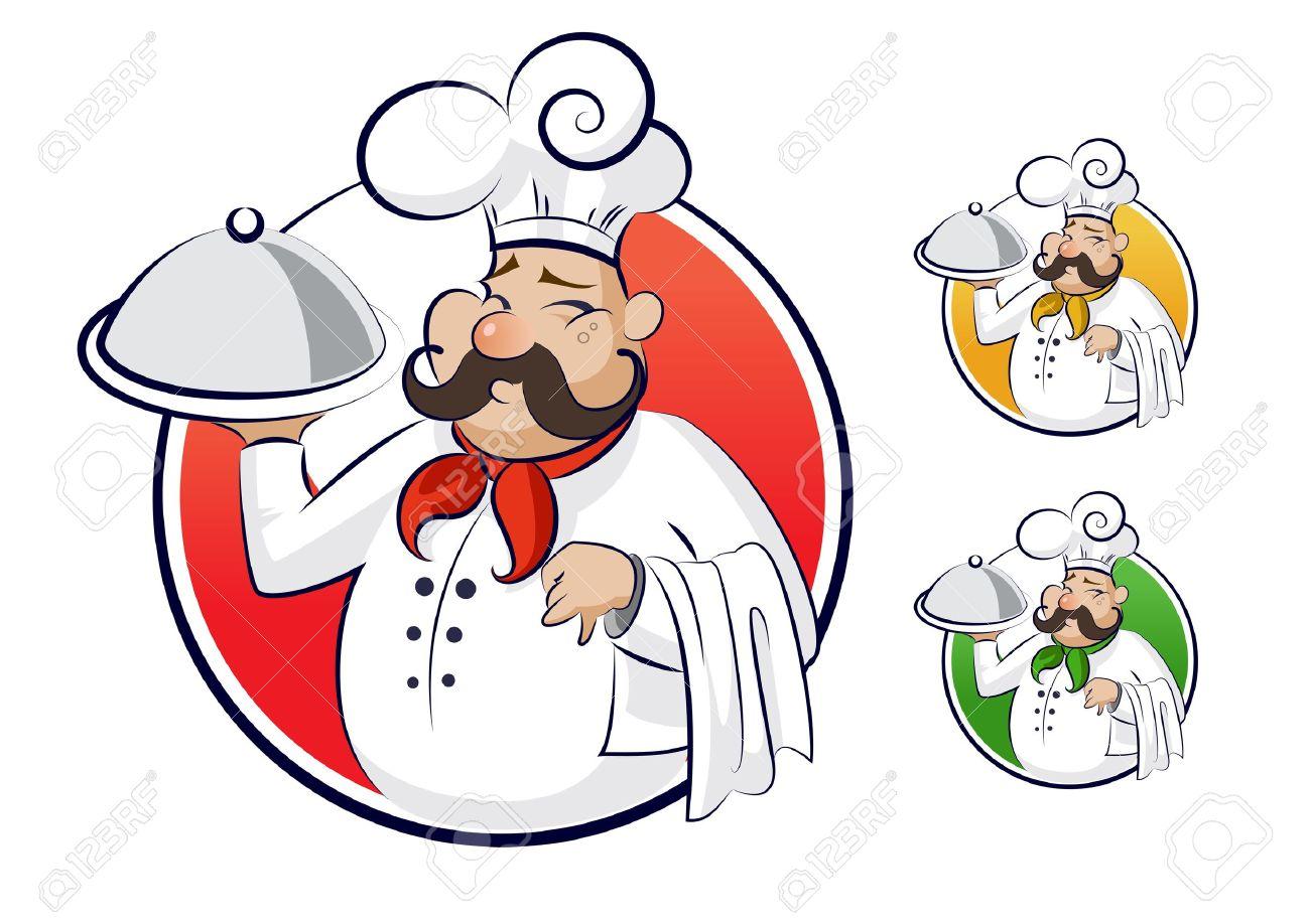 Cartoon restaurant free vector graphic download - Cook Restaurant Stock Vector 16248519