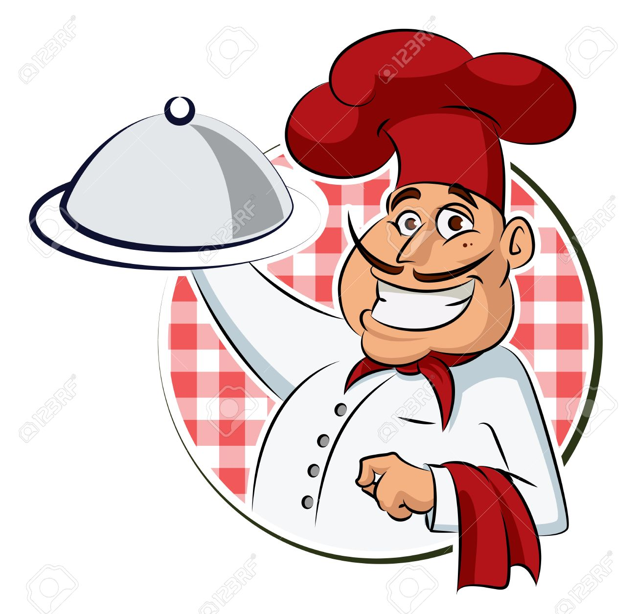 Woman cooking vector images amp pictures becuo - Apron Symbol Cook Restaurant Vector Illustration Isolated On A White Background Illustration