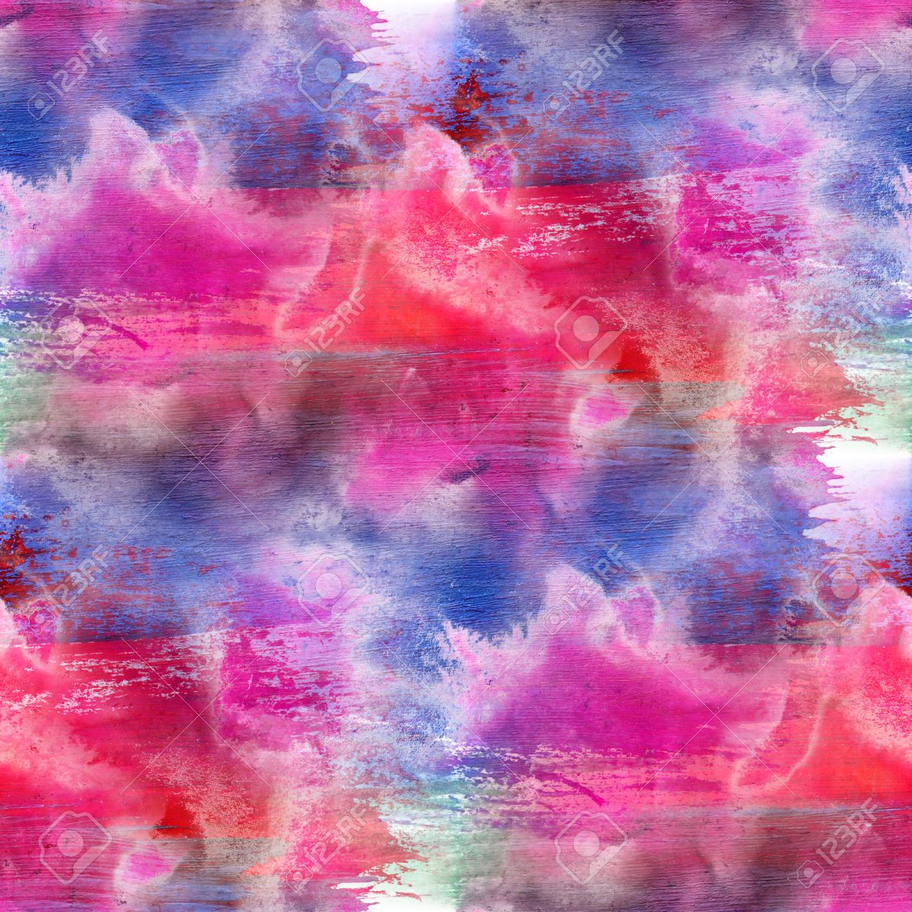 abstract pink red blue painted wallpaper contemporary art backgr