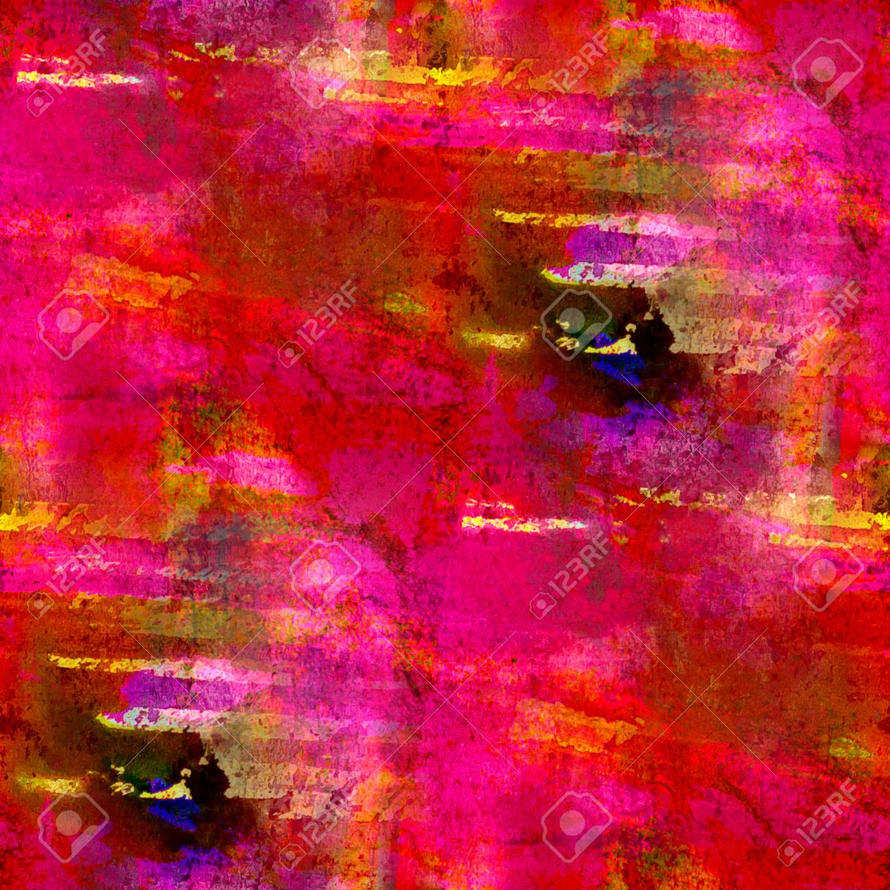 macro red pink seamless handmade watercolor background Stock Photo - 16862423