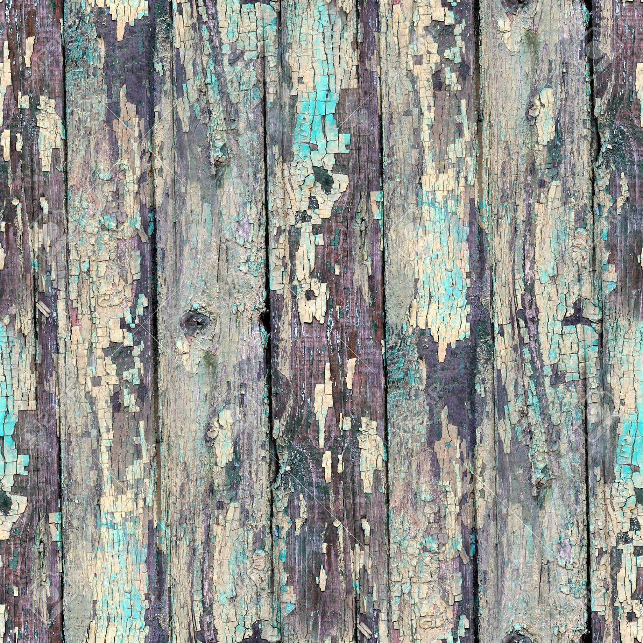 seamless blue texture old wood with cracks Stock Photo - 16868479