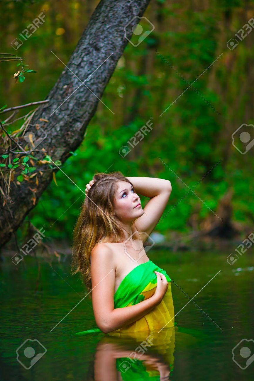 Grün weiblich blond Weiblich blonde