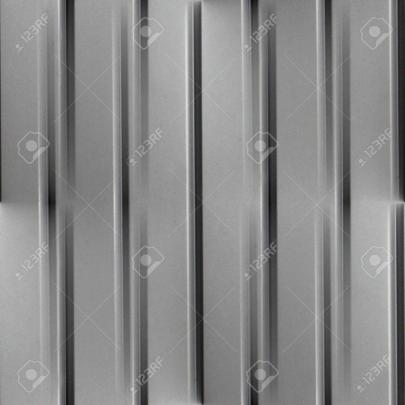 seamless metal wall texture. Seamless Metal Background Iron Steel Sheet Texture Abstract Metallic Corrugated Silver Pattern Stock Photo - 21555413 Wall