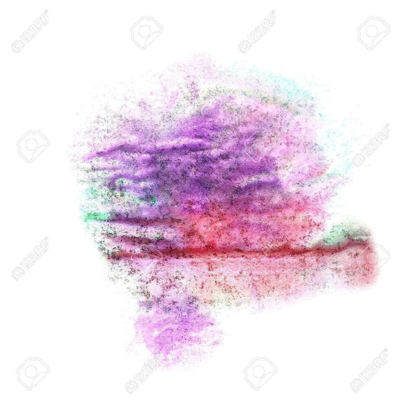 Banque Du0027images   Peinture Violet, Rouge, Vert Encre Du0027éclaboussure Tache  De Blob Tache De Pinceau à Aquarelle Aquarelle Texture De Fond Abstrait
