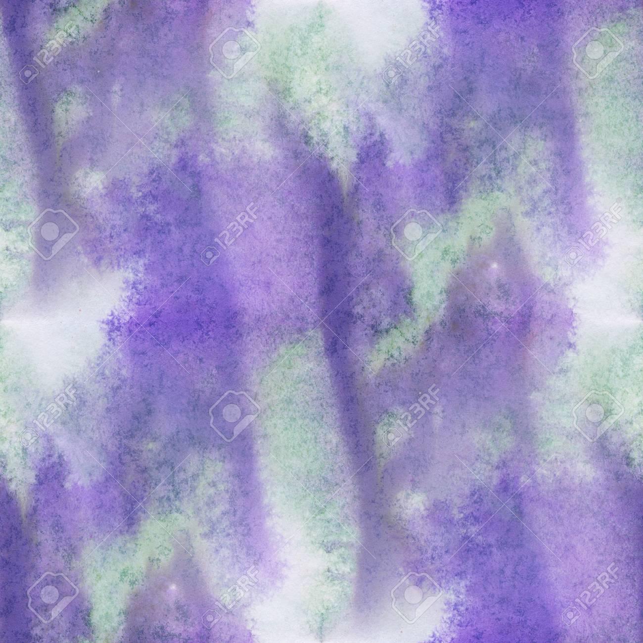 Unique Violet Abstrait Sans Couture Violet Vert Aquarelle Couleur ...