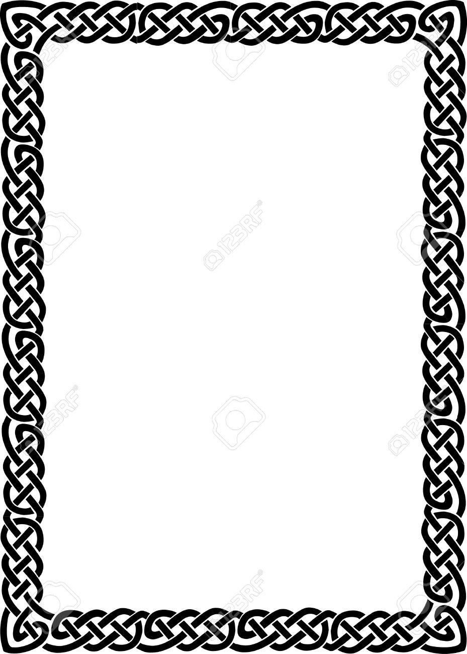Increíble Negro Marco Blanco Embellecimiento - Ideas Personalizadas ...