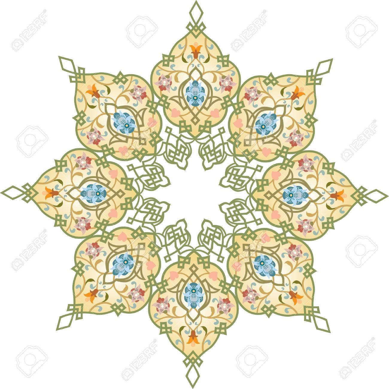 Oriental ornament vector design Stock Vector - 24003599