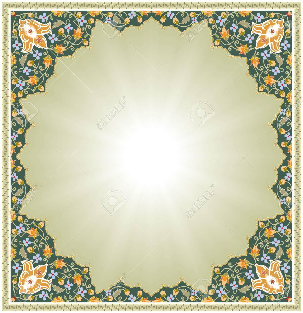 Ornamental seamless pattern in oriental style Stock Vector - 24003824