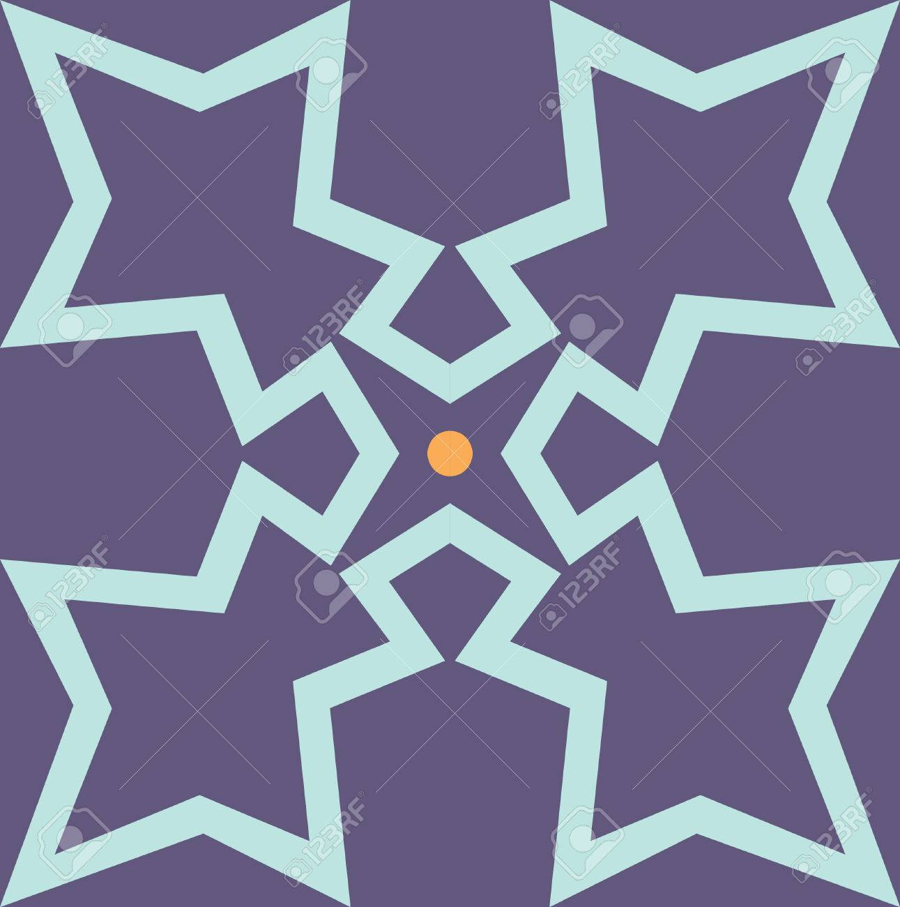 Seamless pattern stock vector, used for tiling background Stock Vector - 24147294