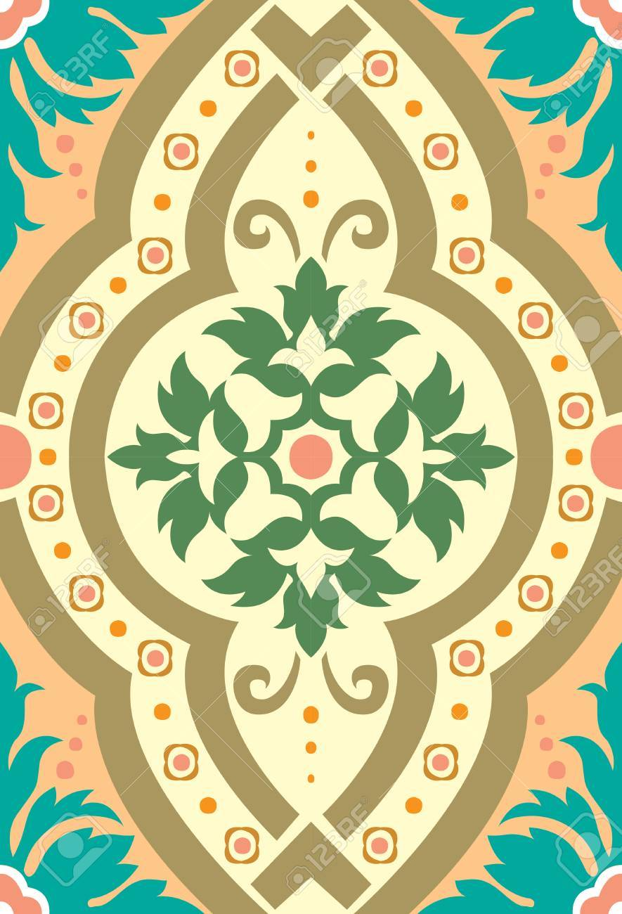 Seamless pattern stock vector, used for tiling background Stock Vector - 24147396