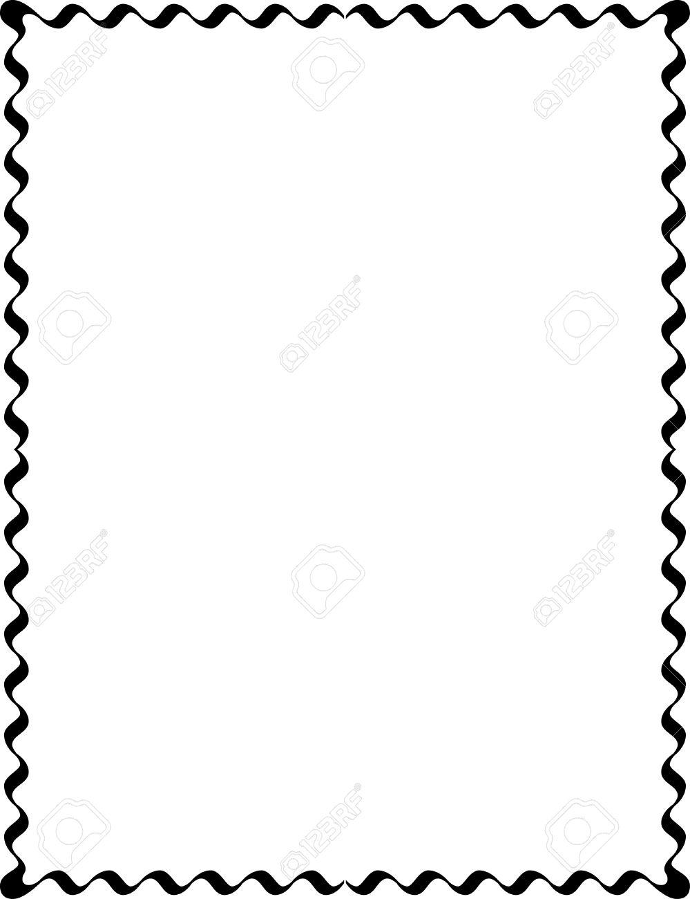 simple lines border frame vector design monochrome royalty free rh 123rf com border vectors png border vectors pinterest