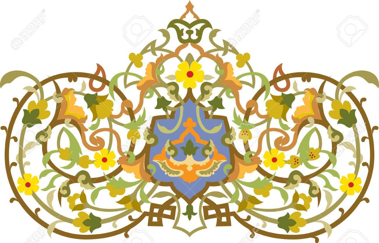 Flowers decorative design element, vector file Stock Vector - 24306707