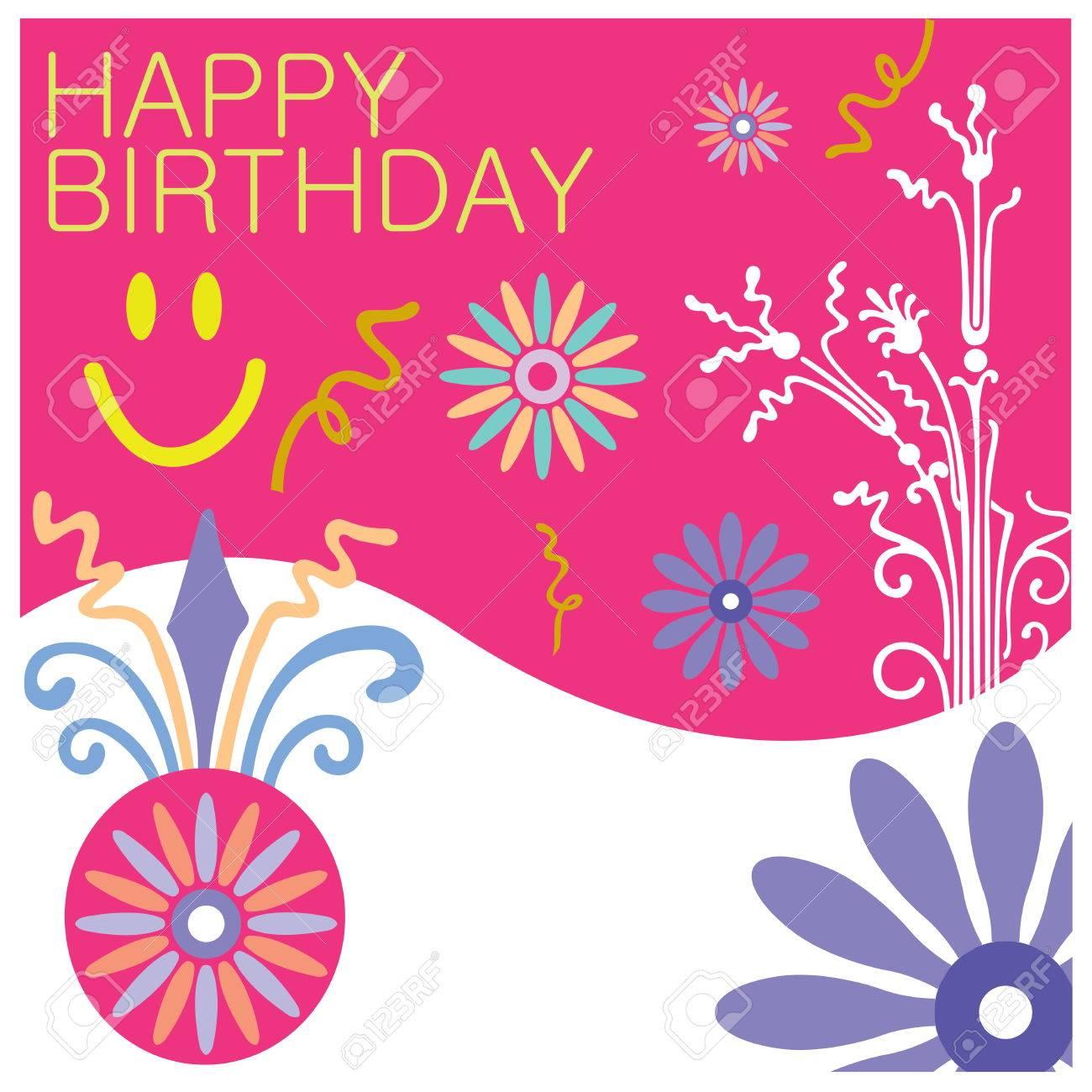 Birthday Greeting Card Design Royalty Free Cliparts Vectors And – Birthday Greeting Designs