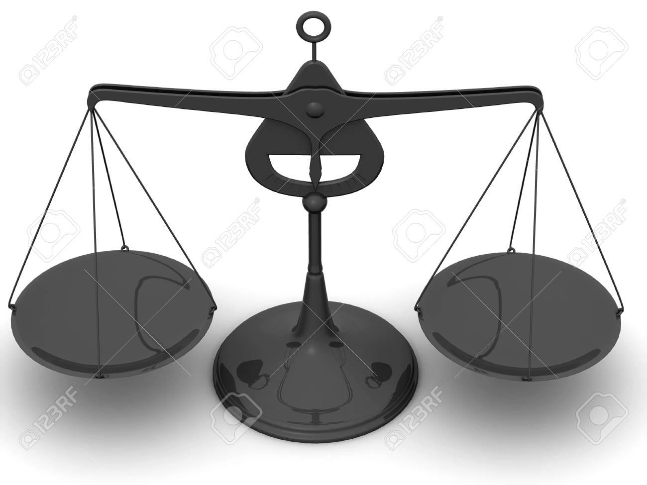 Scales. 3d Stock Photo - 3713455