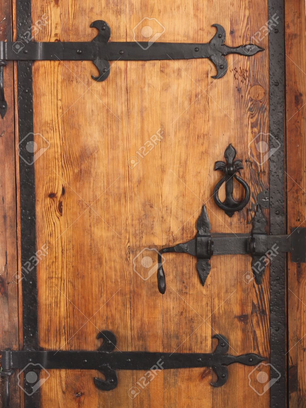 Stock Photo - vintage aged background old door & Vintage Aged Background Old Door Stock Photo Picture And Royalty ...