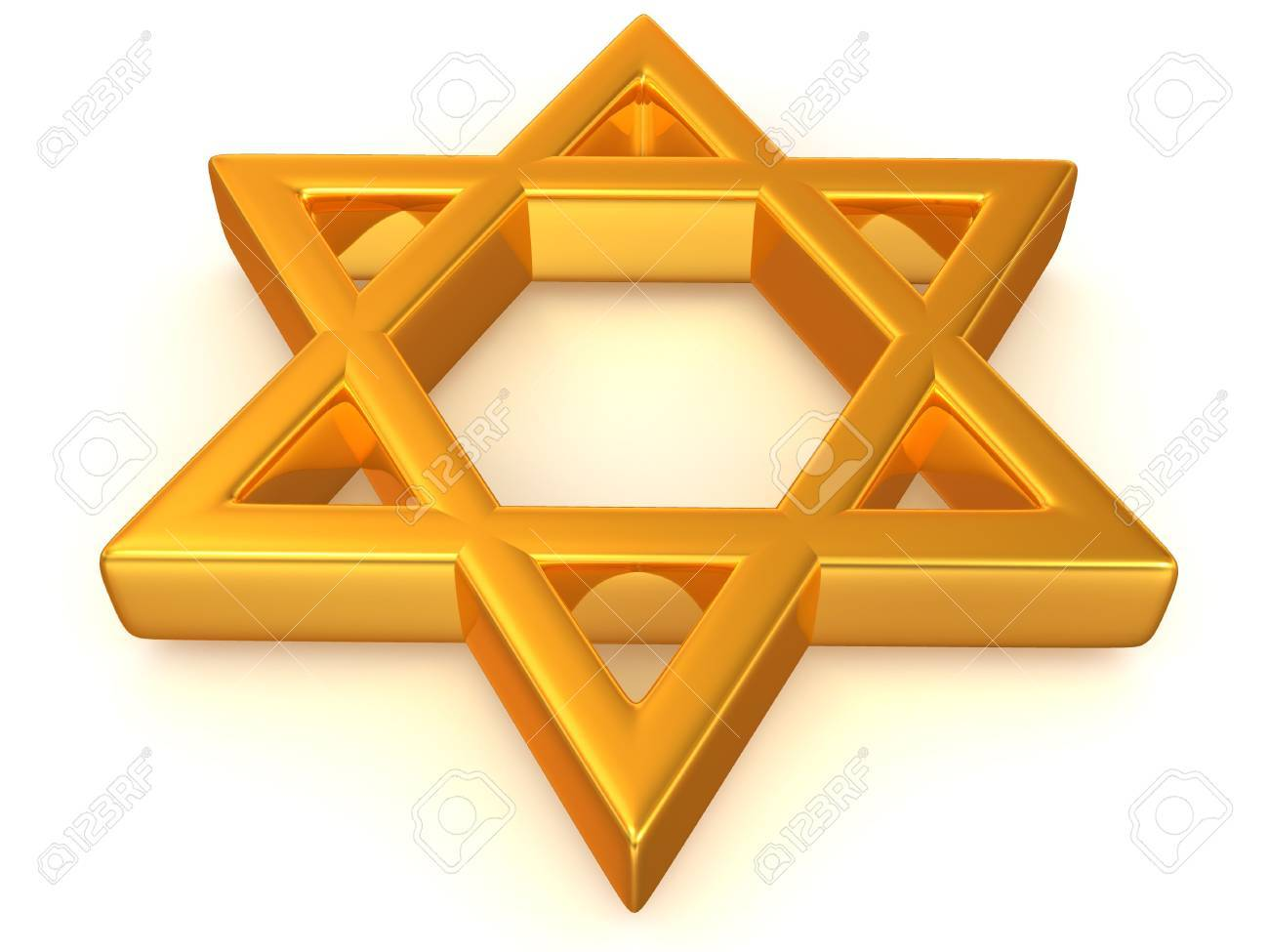Symbol of Israel. 3d Stock Photo - 5568426